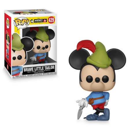 Pop! Mickey (Brave Little Tailor): Mickey Mouse 90th Anniversary (Disney) #429 - Funko