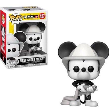 Funko Pop Mickey - Firefighter Mickey Nº 427