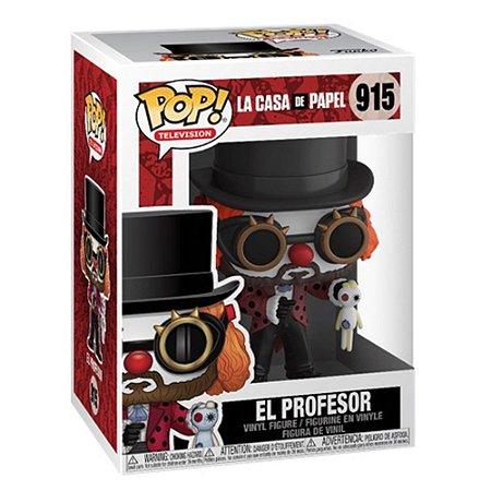 Pop! El Profesor: La Casa De Papel #915 - Funko