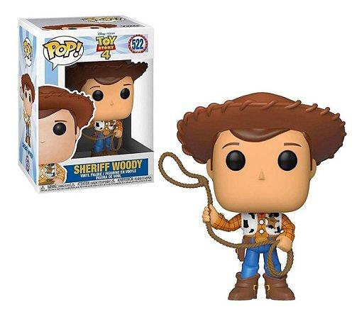Pop! Sheriff Woody: Toy Story 4 #522 - Funko