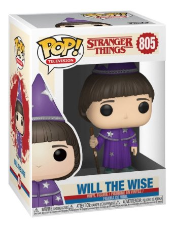 Funko Pop Stranger Things -  Will The Wise Nº 805