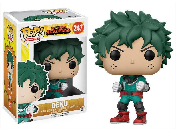 Pop Deku: Boku no Hero Academia (My Hero Academia) #247 - Funko