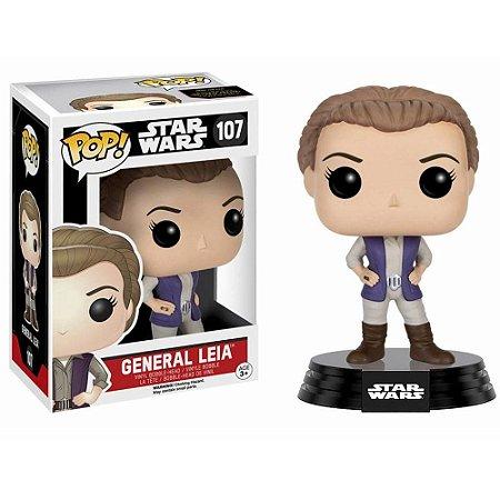 Funko Pop Star Wars - General Leia Nº 107