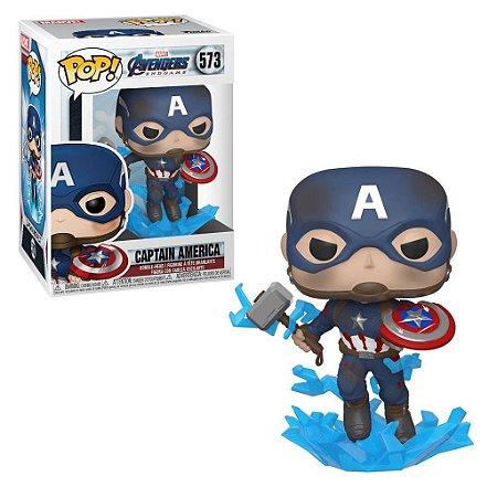 Pop! Capitão América (Captain America): Vingadores Ultimato (Avengers Endgame) #573 - Funko