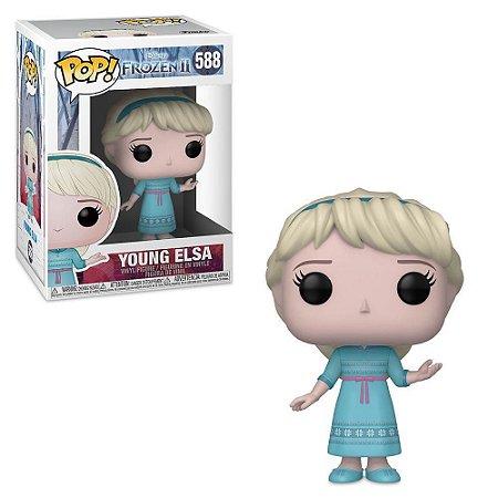 Pop! Young Elsa: Frozen 2 #588 - Funko