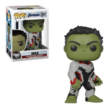 Pop! Hulk: Vingadores Ultimato (Avengers Endgame) #451 - Funko