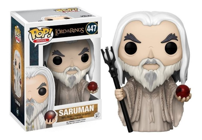 Pop Saruman: O Senhor dos Anéis #447 - Funko