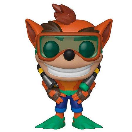 Pop! Games Crash Bandicoot with Scuba: Crash Series 2 #421 - Funko