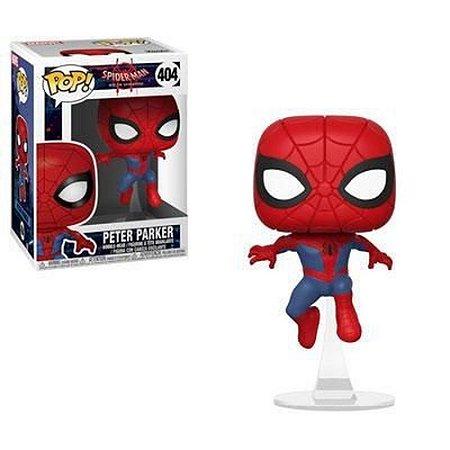 Pop! Peter Parker: Homem Aranha No Aranhaverso (Spider-Man Into the Spider-Verse) #404 - Funko