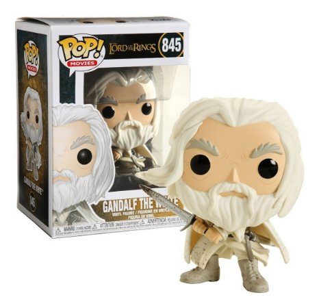 Pop! Gandalf The White: Lord of Rings #845 - Funko
