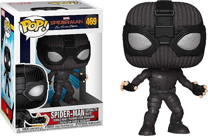 Pop! Spider-Man (Stealth Suit) : Spider-Man FFH #469 - Funko