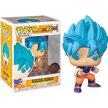 Pop! SSGSS Goku Super Saiyajin Blue:Dragon Ball #668 Funko