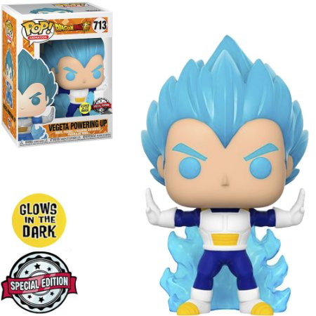 Pop! Vegeta Powering Up : Dragon Ball #713 - Funko (GITD)
