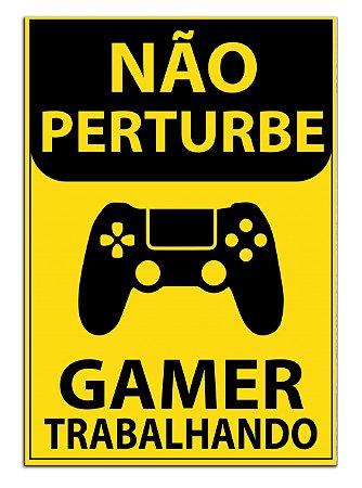 Quadro Decorativo Gamer Personalizado Em Mdf