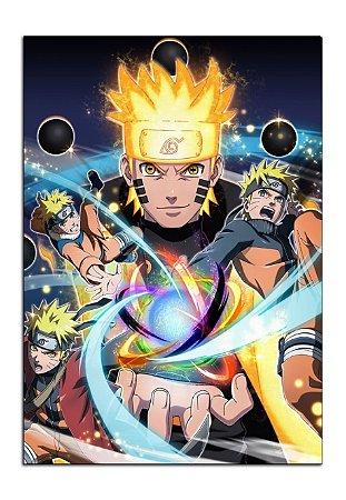 Quadro Decorativo Naruto Personalizado Em Mdf