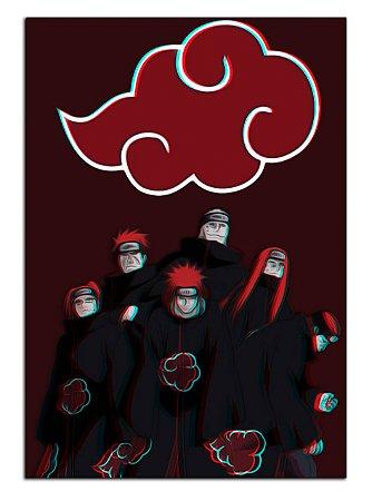 Quadro Decorativo Pain: Naruto Personalizado Em Mdf