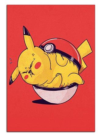 Quadro Decorativo Pikachu Personalizado Em Mdf