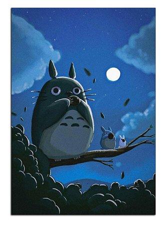 Quadro Decorativo Meu Vizinho Totoro Personalizado Em Mdf