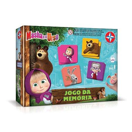 Jogo Da Memória - Masha E O Urso - Estrela