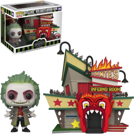 Pop! Beetlejuice With Dantes's Inferno Room #06 - Funko Moments