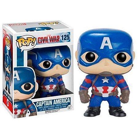 Pop! Captain America Civil War: Captain American #125 - Funko