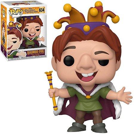 Pop! Corcunda de NotreDame: Quasimodo(Fool) #634 - Funko