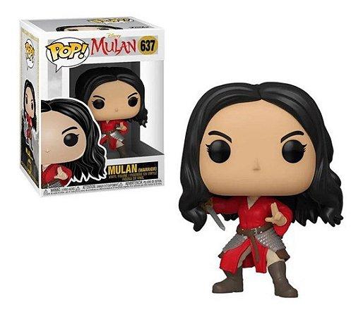 Pop! Mulan: Mulan Warrior #637 - Funko