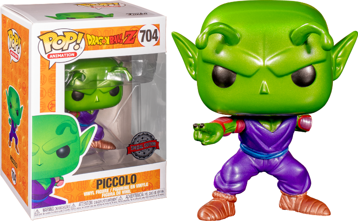 Pop! Dragon Ball: Piccolo #704 - Funko Metallic