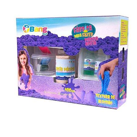 Fabrica De Fazer Areia Cinética De Algodao 400g - Bang Toys