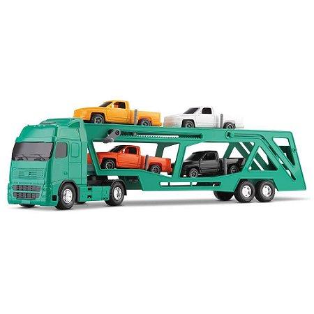 Caminhão Voyager Cegonheira - Roma Brinquedos