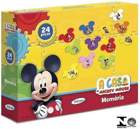 Jogo Da Memória A Casa Do Mickey Mouse 1898.7 - Xalingo