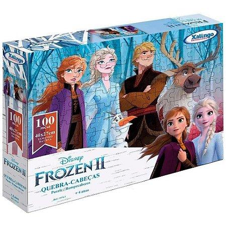 Quebra-cabeça 100 peças Frozen II Disney
