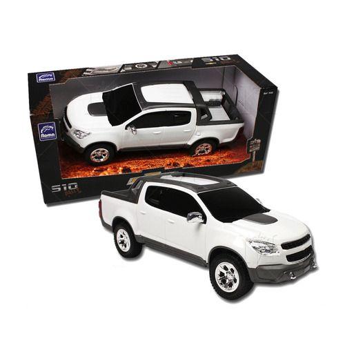 Pick-Up S10 Rally Roma Branca - Roma Brinquedos