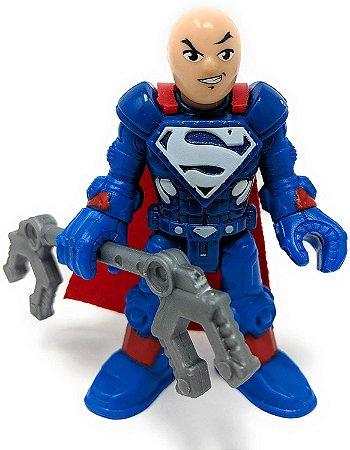 """Imaginext DC Super Friends Series 6 Lex Luthor Super Suit 2.5"""" Figure"""