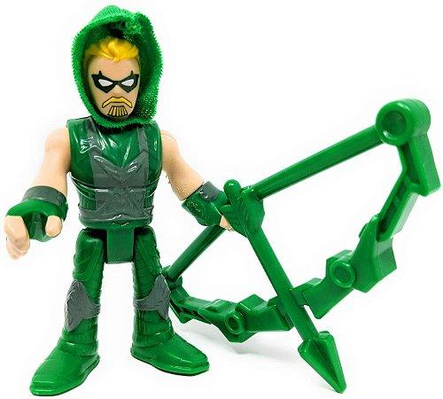 """Imaginext DC Super Friends Series 6 Green Arrow - Arqueiro Verde 2.5"""" Figure"""