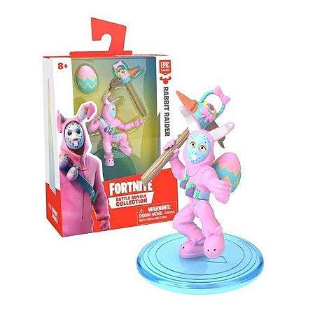 Mini Boneco Fortnite Rabbit Raider E Acessórios - Fun