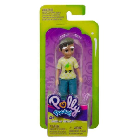 Polly Pocket Nicolas Wells! Sortimento Boneca Básica GKL28 Mattel
