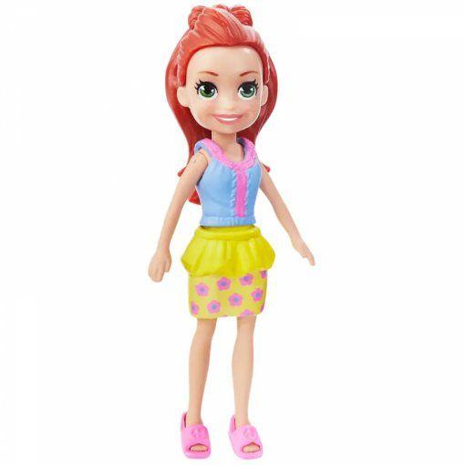 Polly Pocket Lila! Sortimento Boneca Básica Gfp78 Mattel