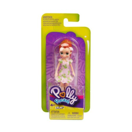 Polly Pocket Lila! Sortimento Boneca Básica Gkl30 Mattel