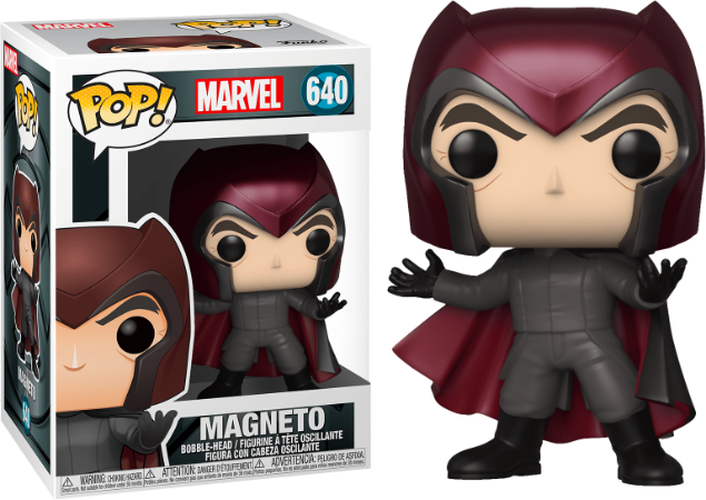 Pop! X-Men: Magneto #640 - Funko