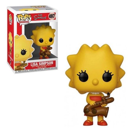 Pop! The Simpsons: Lisa Simpson #497 -Funko