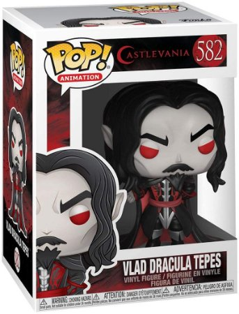 Pop! Castelvania: Vlad Dracula Tepes #582 - Funko