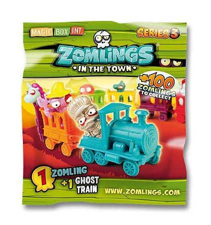 Zomlings In The Town Trem Fantasma Serie 3 Fun