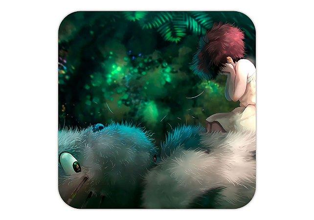 Quadro 18x18 cm -Studio Ghibli- Meu Vizinho Totoro-