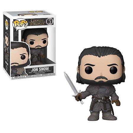 Pop! Jon Snow - Série Game Of Thrones #61 - Funko