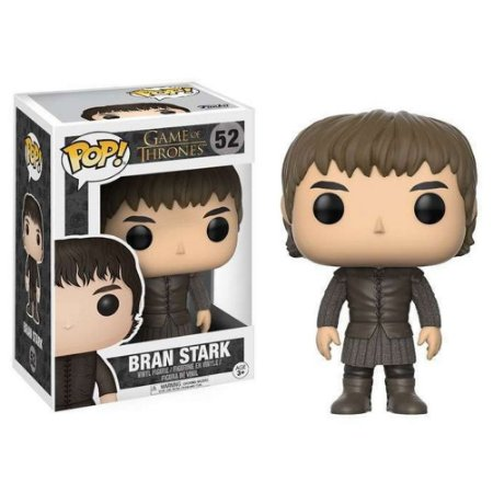Pop! Bran Stark - Série Game Of Thrones #52 - Funko