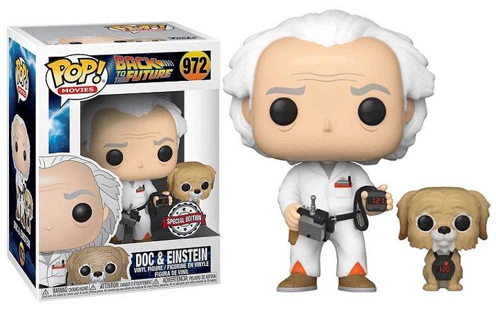 Pop! De volta para o Futuro: Doc & Einstein #972 -  Funko