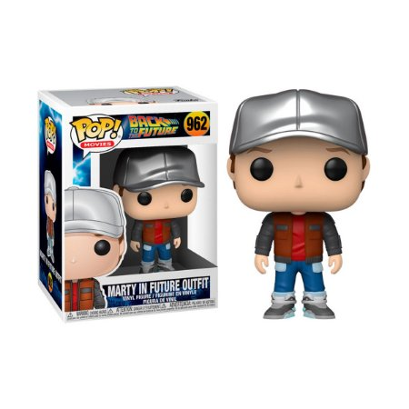 Pop! Back To The Future: Marty in Future Outifit #962 - Funko