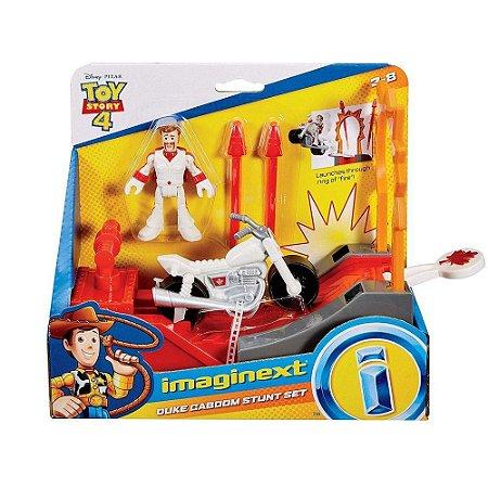 Imaginext Toy Story 4 Figura Duke Caboom C/Veiculo Mattel