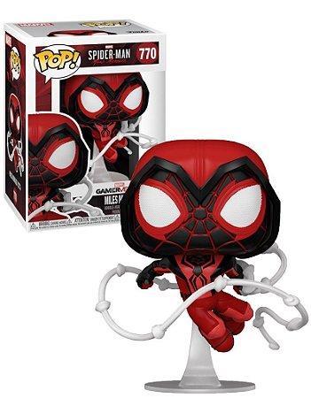 Pop! Spider Man: Miles Morales(Crimson Cowl Suit) #770